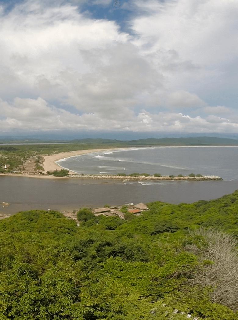 Lagunas de Chacahua Puerto Escondido, Oaxaca México.