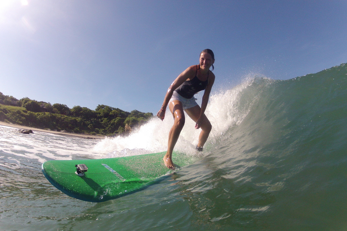 Private surf lessons with vidasurf ecotours