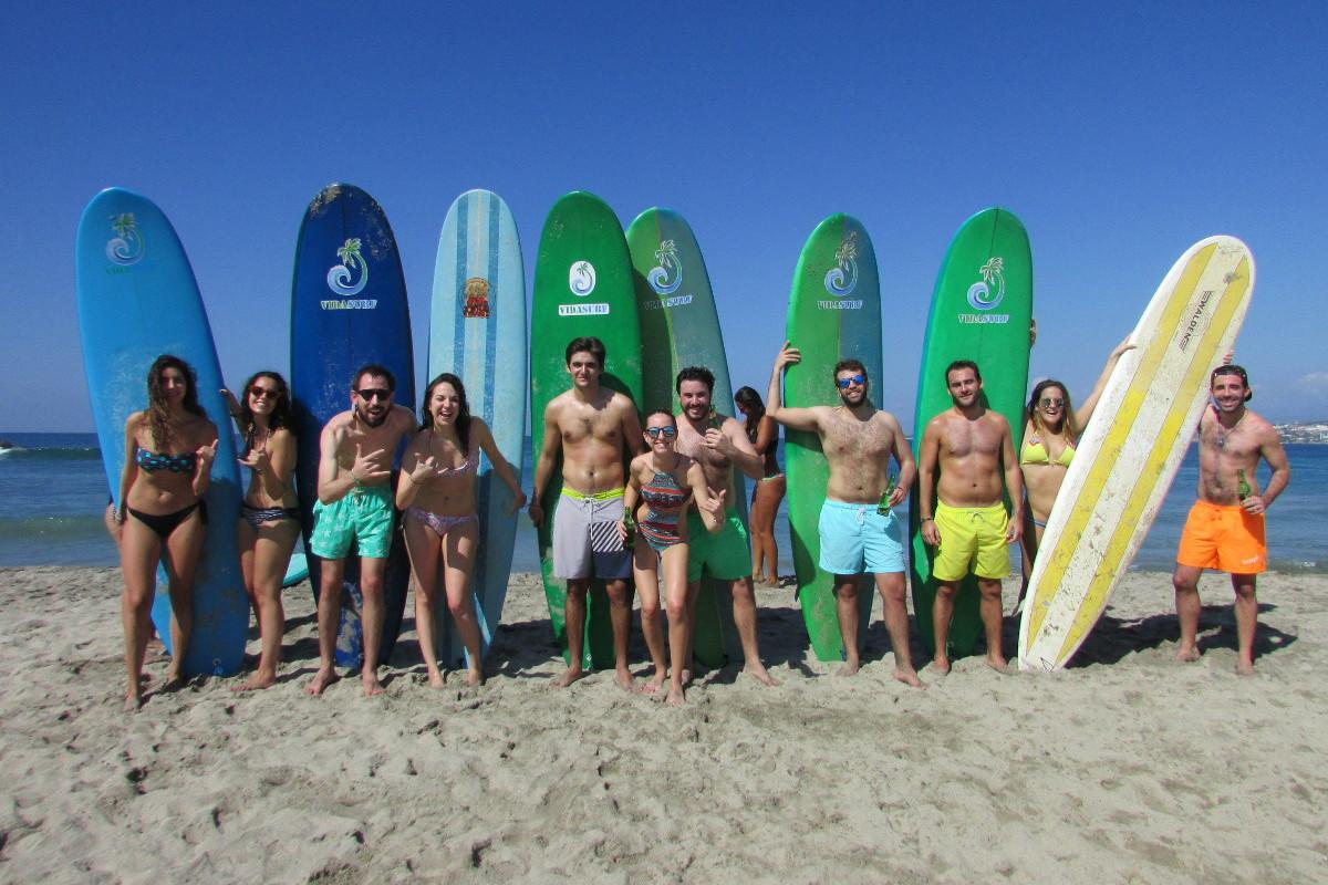 Viajes de surf en puerto escondido